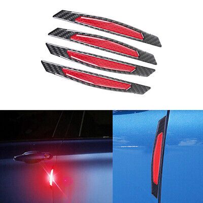 $ CDN3.95 • Buy Red Car Wheel Rim Reflective Warning Strip Sticker Safety Light Protective Parts