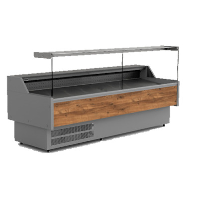 10f Serve Over Counter Display Fridge Chiller Cabinet Meat Kebab 3.0m Butcher  • 2,820£
