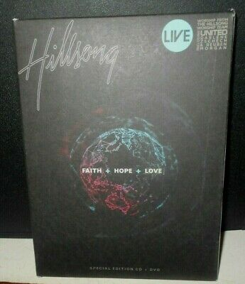 $19.50 • Buy Hillsong Faith+Hope+Love Special Edition CD+ DVD Free Shipping
