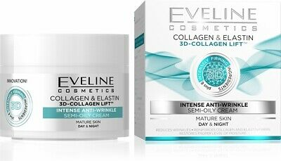 Eveline 3D-Collagen Lift Intense Anti-wrinkle Day&Night Cream 50ml • 7.99£