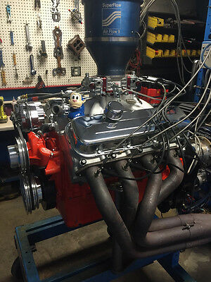 454 Stroker 489 496 Chevy High Perf Balanced Dyno Run Turn Key Engine 644HP • 9,995$