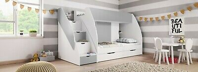 £529 • Buy Kids Bunk Bed MARTIN Unique Design Many Sorages , UK STOCK Quick Delivery