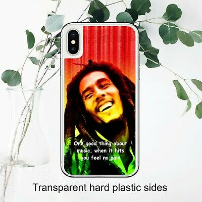 Bob Marley Quote Weed Music Lover Fan Case Cover IPhone Samsung Huawei Google • 5.99£