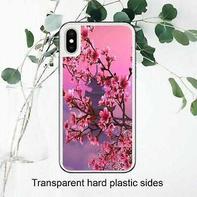 £3.49 • Buy Cherry Blosson Japanese Sakura Floral Case Cover IPhone Samsung Huawei Google