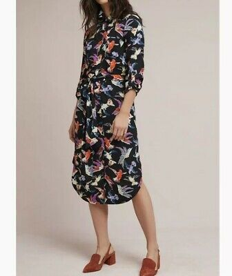 c2113735bb1c Anthropologie Meave Christina Shirtdress 12 NWT • 95.00$