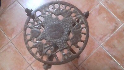 African Hand Carved Animal Tripod Folding Wooden Table • 85£