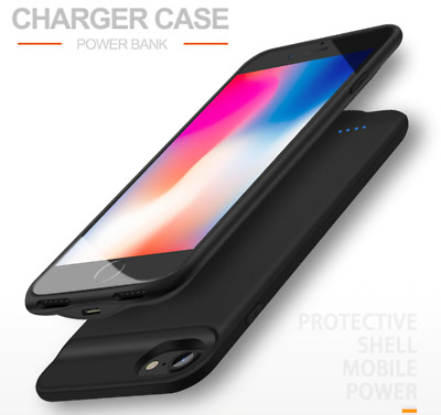 AU64.99 • Buy Battery Charger Case For IPhone 6 7 8 6s Plus Power Bank Charging Cover External