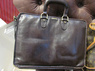 Hidesign Leather Briefcase • 15£