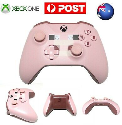 AU89.99 • Buy AU Minecraft Pig Edition MS Xbox One Wireless Game Controller Gamepad With Jack