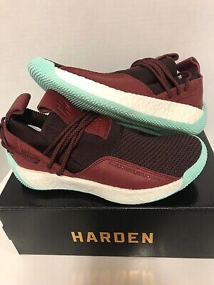 4955e1fc032e NEW ADIDAS HARDEN LS 2 LACE - CG6277 MEN S Red Maroon Clear Mint James