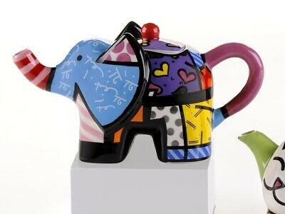 Romero Britto Mini Elephant Teapot * New * • 32.92£