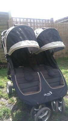 Baby Jogger City Mini Double Pushchair • 200£