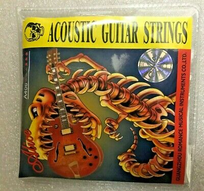 $ CDN6.99 • Buy Alice A406 Series Acoustic Folk Guitar Strings Set Stainless Steel Wire L4V3