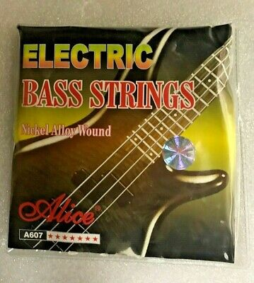 $ CDN9.99 • Buy Brand New Alice A607 Electric Bass Guitar String Set