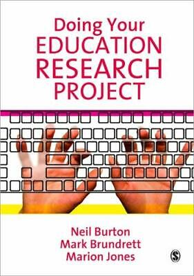 £6.18 • Buy Doing Your Education Research Project Paperback Neil Burton