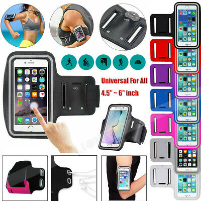 Sports Running Jogging Armband Case Cover Holder Fit For IPhone & Samsung Galaxy • 4.89£