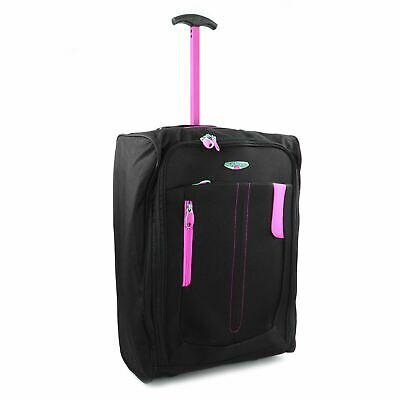 £12.99 • Buy Lightweight Wheeled Cabin Hand Luggage Bag Case Trolly Holdall Flight Suitcase