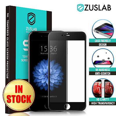 AU7.95 • Buy IPhone SE 2nd 8 Plus 7 Plus 6 S ZUSLAB Tempered Glass Screen Protector For Apple