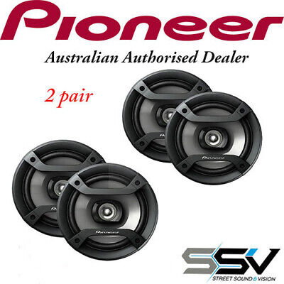 AU60 • Buy 2 X Pairs Of Pioneer TS-F1634R 200 Watt 6.5 Inch  Speakers TSF1634R