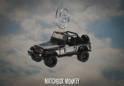 AU46.13 • Buy 1989 Jeep Wrangler Open Top Custom Ornament 1/64 XJ YJ Black Out Sahara Adorno