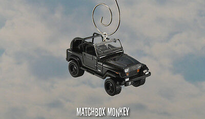 AU40.54 • Buy 1994 Jeep Wrangler Open Top Custom Ornament 1/64 XJ YJ Black Out Sahara '92 '93