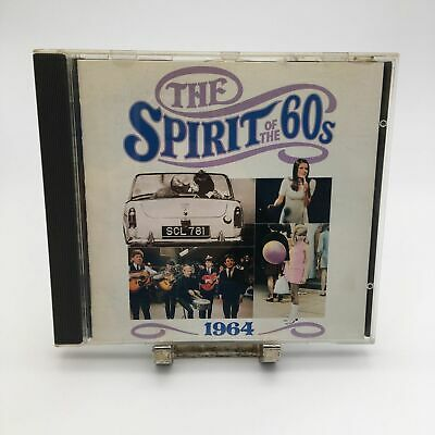 Spirit Of The 60s / 1960's 1964 Rare CD (Complete In CD Case) • 5.22£