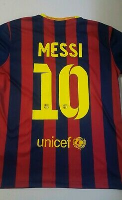 672660c0bf5 Men s Nike FC Barcelona Lionel Messi Jersey - Size Medium • 18.99