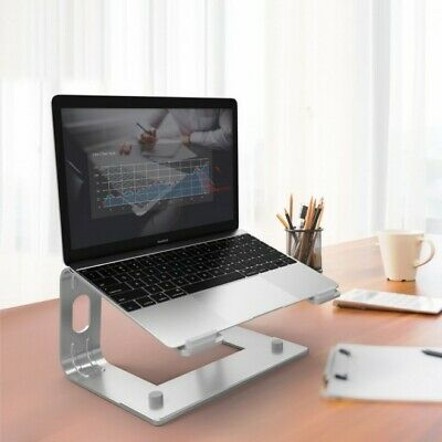 AU43.99 • Buy Ergonomic Aluminium Cooling Stand Elevator For Laptop MacBook