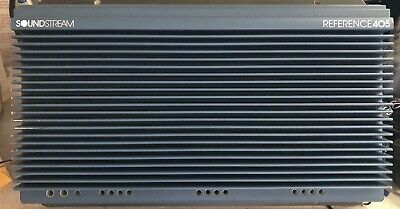 $ CDN669.74 • Buy Rebuilt Old School Soundstream Reference 405 5 Channel Amplifier,Rare,USA,SQ