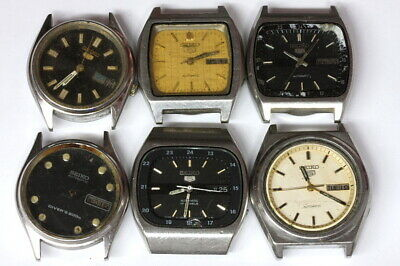 $ CDN75.51 • Buy Lot Of Seiko 7009 Automatic Mens Watches For Parts - Nr. 138747
