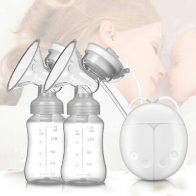 View Details Electric Breast Pump Mute Automatic Dual Breastpump Baby Infant Feeding With USB • 12.99£