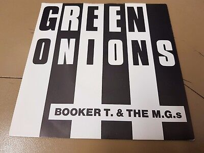 Green Onions - Booker T. & The M.g.s 7  Single • 10£