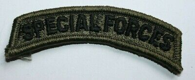 Genuine Us Army Issue Paintball Special Forces Subdued Tab Insignia Cloth • 1.50£