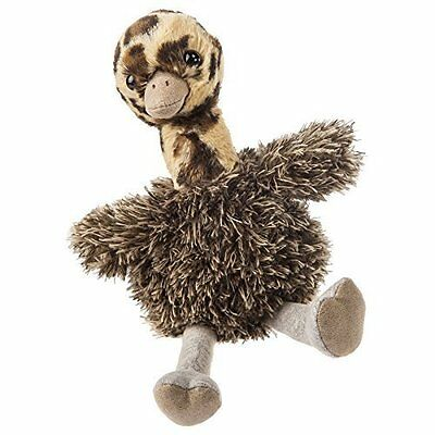 Mary Meyer Baby Ostrich Chick Fab Fuzz Bird Tan Brown Gray Stuffed Animal NEW • 15.95$