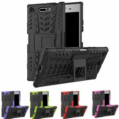 AU7.95 • Buy For Sony Xperia L3 XZ1 XZ2- Heavy Duty Rugged Armour Shockproof Stand Case Cover