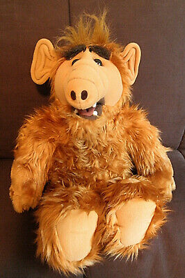 Talking ALF The Storytelling Alien Plush With Cassette Tape 1987 Coleco Animated • 46.99$