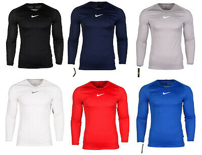 Nike Dri-Fit Adult Mens Park First Base Layer Football Skins Compression Top • 14.68£