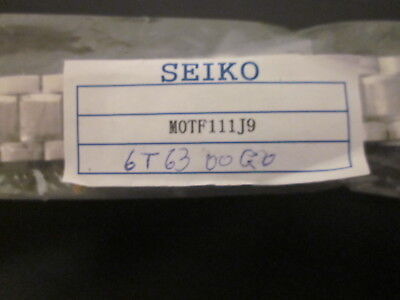 $35 • Buy New  Seiko  Watch Band For Men's Watch.Japan Made.# MOTF111J9,# 6T63-00G0