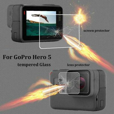 $ CDN4.56 • Buy For Gopro Hero 7 6 5 Camera Accessories-Lens & Screen Protector Protector Film F