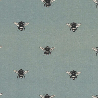 Abeja Bees Mineral Clarke And Clarke  PVC WIPE CLEAN TABLECLOTH OILCLOTH • 19.99£