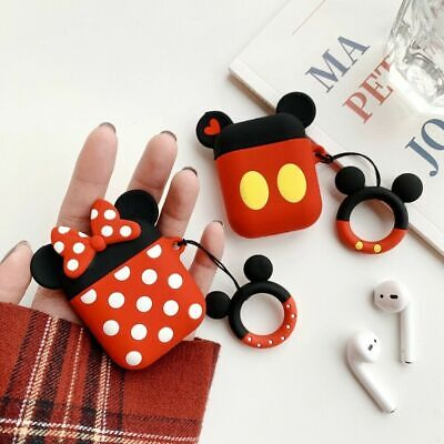 $ CDN4.66 • Buy Bluetooth Earphone Case For Airpods Accessories Protec Cover Mickey Minnie LOT