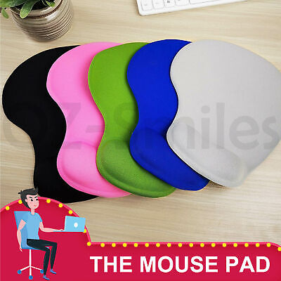 AU6.95 • Buy Comfort Wrist Gel Soft Rest Support Mat Mouse Mice Pad Gaming PC Laptop Computer