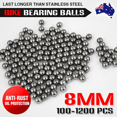 AU14.95 • Buy Replacement Parts 8mm Bike Bicycle Carbon Steel Loose Bearing Ball