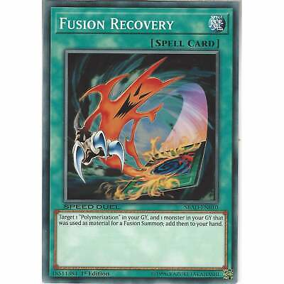 £0.99 • Buy Fusion Recovery - SBAD-EN010 - Speed Duel Common Card 1st Edition - Yu-Gi-Oh TCG
