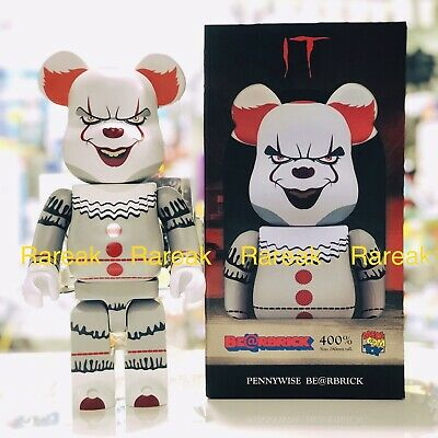 $334.99 • Buy Medicom Be@rbrick 2019 Horror Crown 400% Joker Pennywise Bearbrick