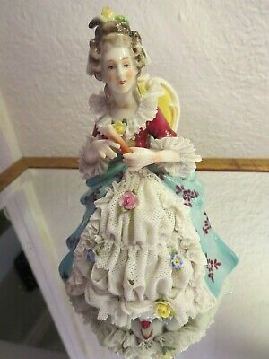 $ CDN108.69 • Buy Antique German Porcelain Dresden Lady