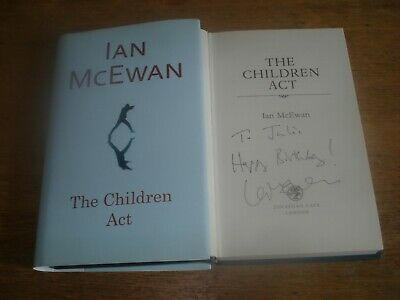 £40 • Buy The Children Act,Ian McEwan, SIGNED FIRST EDITION & FIRST PRINTING HARDBACK 2014