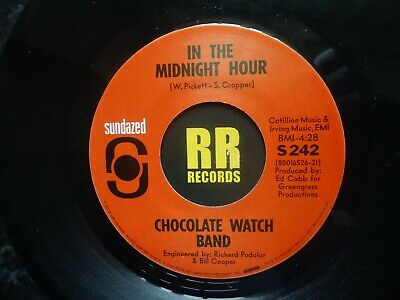 The Chocolate Watch Band - In The Midnight Hour Us Sundazed Garage / Sixties • 7£