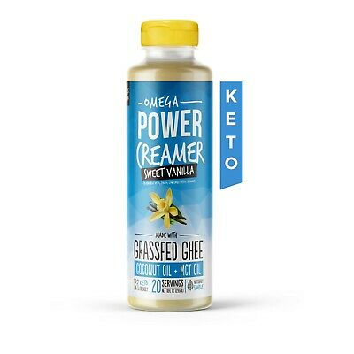 $21.60 • Buy Keto Coffee Creamer - Omega PowerCreamer - VANILLA  (FREE SHIPPING)