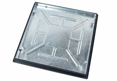 Recessed Manhole Cover With Frame 600 X 600 X 46mm Sealed And Locked T16G3 • 68.85£